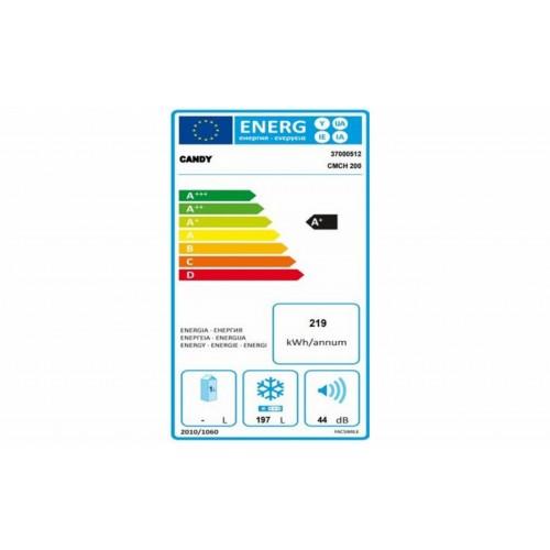 Lada frigorifica Candy CMCH 200, 197 l, Clasa A+, LED, maner integrat, Alb