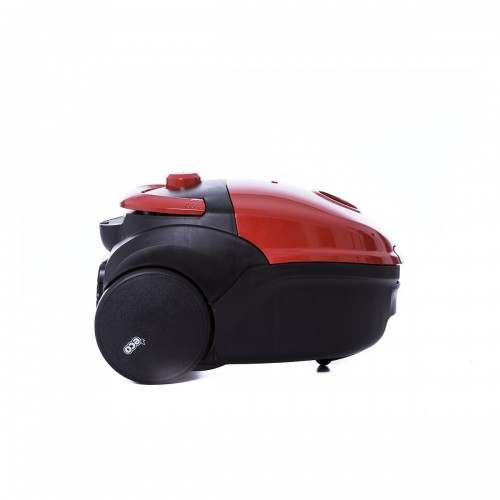 Aspirator Albatros Smile Eco, 850 W, 2.7 litri, 170 W putere absorbtie, Rosu