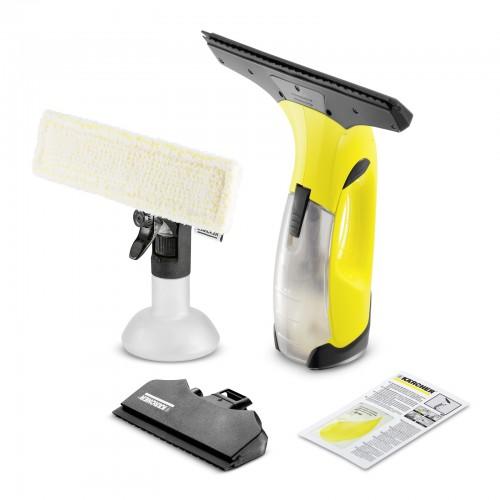 Aspirator de geamuri Karcher WV 2 Premium, pana la 105 mp - 35 ferestre + Flacon de pulverizare 250 ml + laveta din microfibre