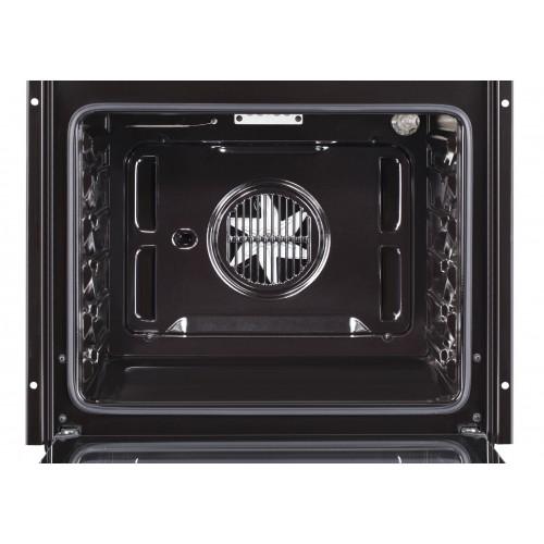 Cuptor incorporabil Samus SC623GX5, Electric, 75 l, Clasa A, Negru/Inox