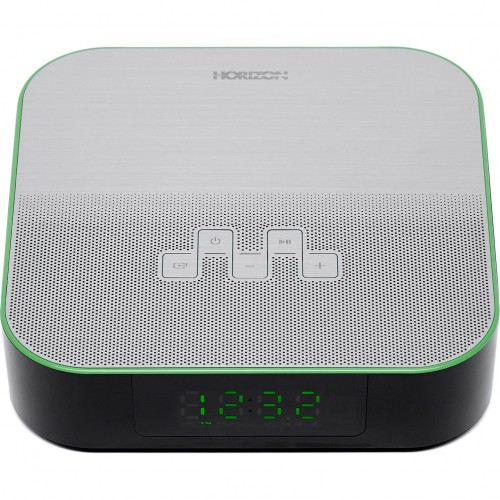 Radio ceas Horizon Acustico HAV-P4180, 6W, 2.0, BT, AUX, USB, FM, Dual Alarm