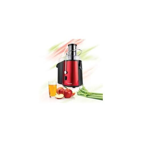 Storcator de fructe si legume Heinner XF-1000RD, 1000 W, Recipient suc 1 l, 2 Viteze, Alimentare 75 mm, Rosu
