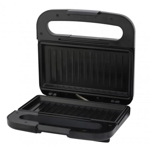 Sandwich-maker Albatros SGX-750, 750W, Negru/Inox