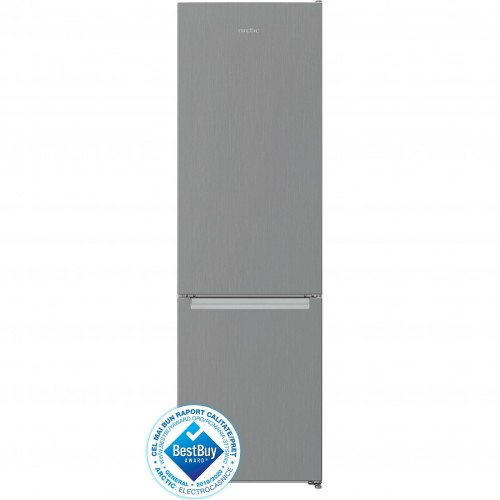 Combina frigorifica Arctic AK54305MT+, 291 l, Clasa A+, H 181.2 cm, Argintiu
