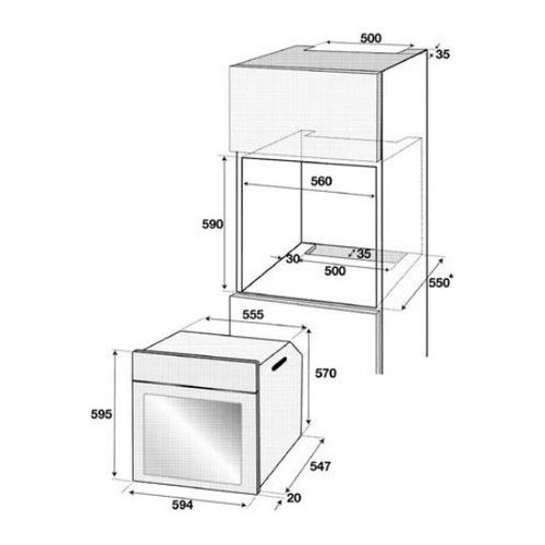 Cuptor incorporabil Beko BIE22300XP, Electric, Multifunctional, Timer, Grill, Display LED,  71 l, Clasa A, Inox
