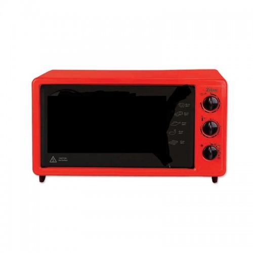 Cuptor electric Zilan ZLN-5648, 1650W, Termostat reglabil, Temporizator, Capacitate mare 40L, Tavi incluse