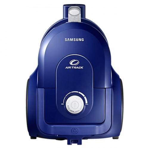 Aspirator fara sac Samsung VCC43Q0V3B, 1.3 l, 850 W, Air Track, Tub telescopic, Albastru