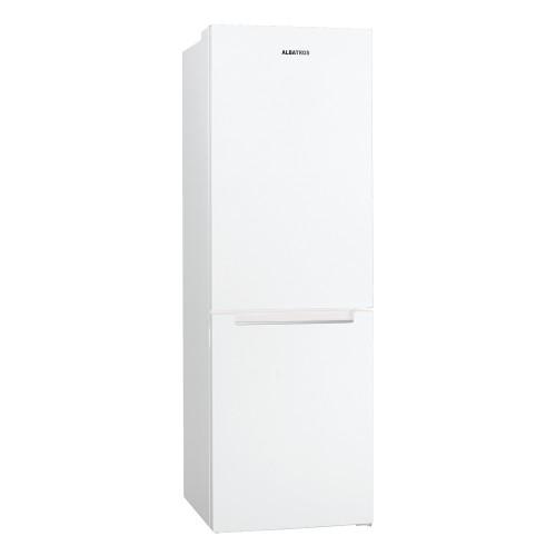 Combina frigorifica Albatros CNF45A+, Full No frost, Clasa A+, 320 litri, H 186 cm, 3 Ani garantie, Alb
