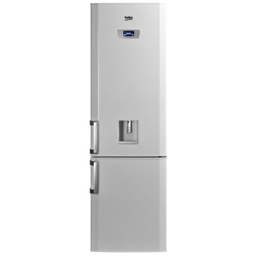 Combina frigorifica Beko DBK 386 WDR+, 325 l, Clasa A+, H 201 cm, Dispenser apa, Alb