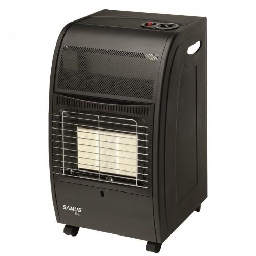 Soba Samus RS421,  4200W, GPL, protectie la supraîncălzire, Negru