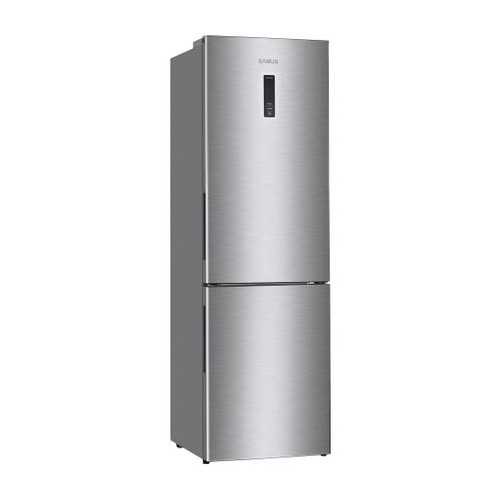 Combina frigorifica Samus SCX470NF+, Full No Frost, 338 l, Clasa A+, Inox