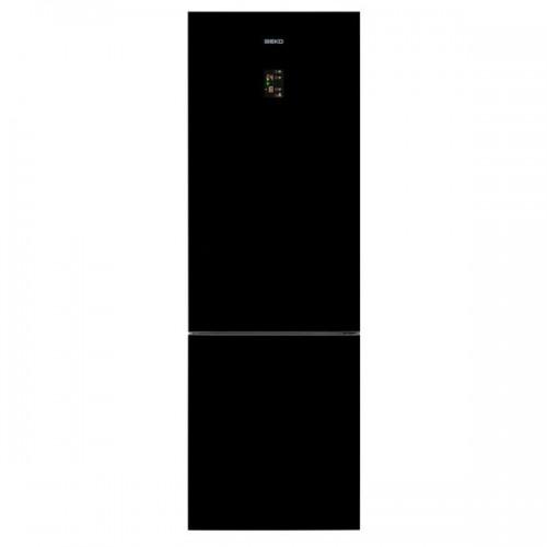 Combina frigorifica BEKO RCNA400E20ZGB, 347 l, 201 cm, A+, Negru