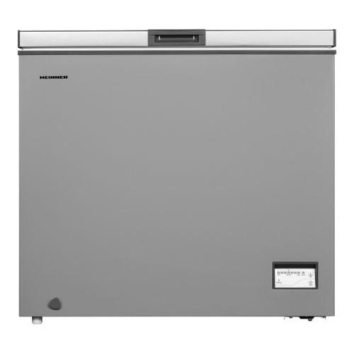 Lada frigorifica Heinner HCF-205NHSA+, 200 l, Control elecronic, Waterproof Display, Clasa A+, Silver