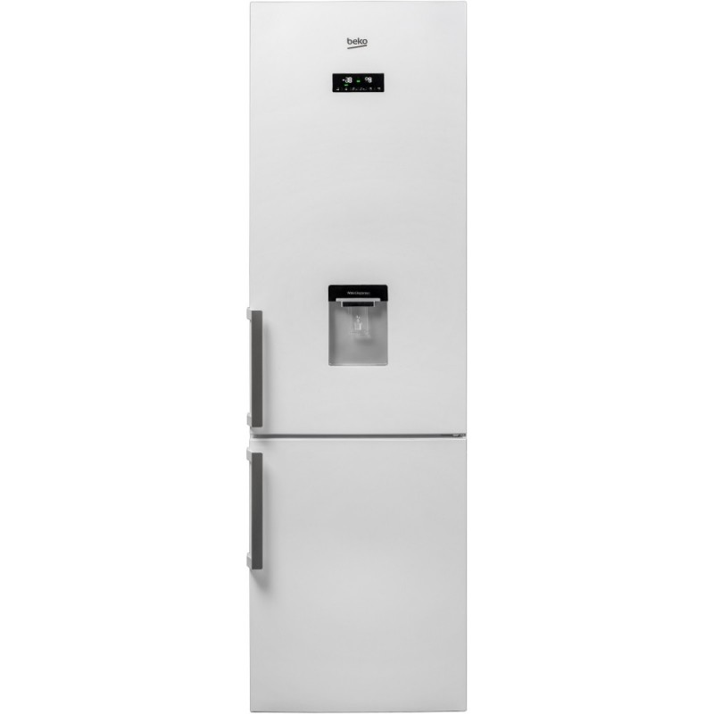 Combina frigorifica NoFrost BEKO RCNA400E21DZW, 344 l, 201 cm, A+, alb
