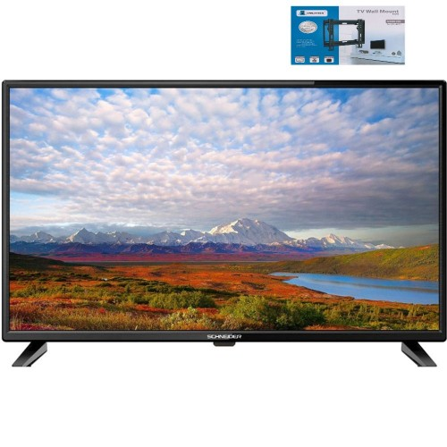 Televizor Smart LED, Schneider 32SC450K, 81 cm, HD+Suport universal UCH0150