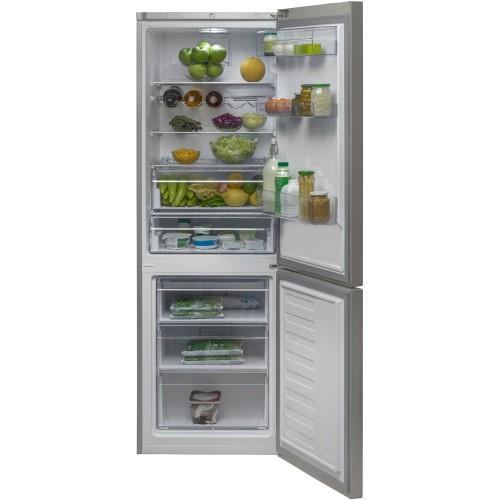 Combina frigorifica NeoFrost BEKO RCNA365K20ZXP, 365l, 185 cm, A+, inox