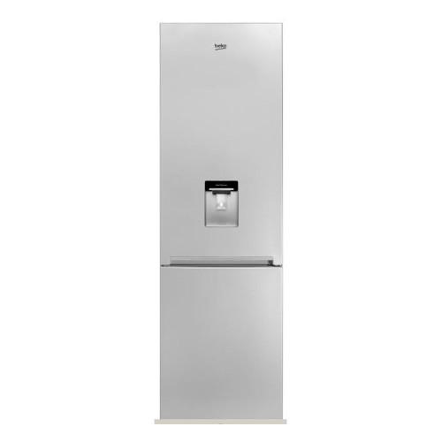 Combina frigorifica BEKO RCSA400K20DS, 377 l, 201 cm, BlueLight, A+, argintiu