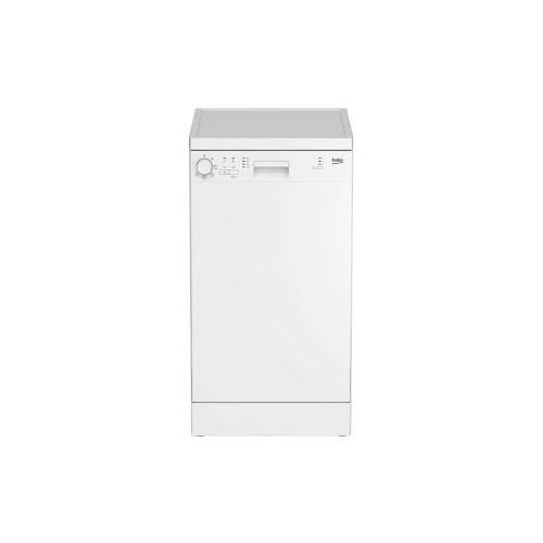 Masina de spalat vase Beko DFS05013W, 10 seturi, 5 programe, Clasa A+, Alb