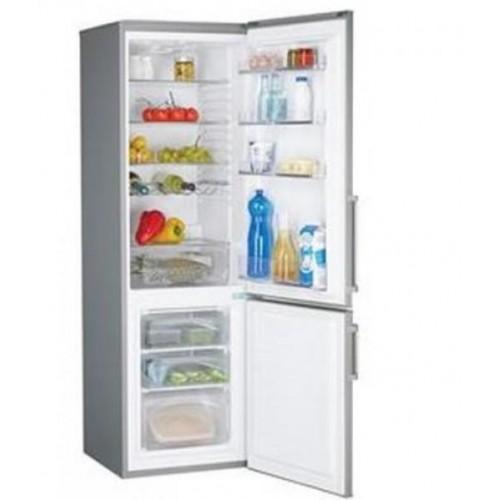 Combina frigorifica Candy CCBS6182XH/2, 300 l, Clasa A+, H 180 cm, Inox