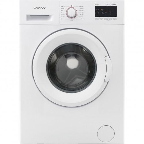 Masina de spalat rufe Daewoo DWD-FV2021, 7 Kg, 1000 RPM, Display, A+++, Alb