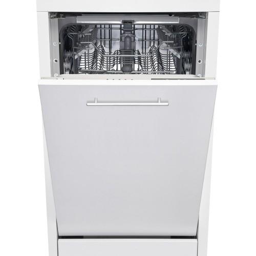 Masina de spalat vase incorporabila Heinner HDW-BI4505IE++, 10 seturi, 5 programe, Clasa A++, Control electronic, Display LED