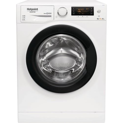 Masina de spalat rufe cu uscator Hotpoint Ariston RDPD 96407 JD EU, 9/6 kg, 1400 RPM, Clasa A, Alb