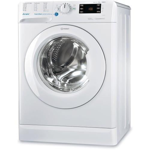 Masina de spalat rufe Indesit BWE 81284X W EU, 8 kg, 1200 rpm, Clasa A+++, Alb