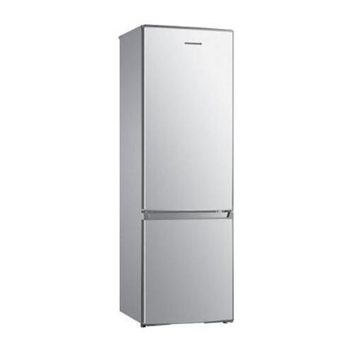 Combina frigorifica Heinner HC-H273SA+, 273 l, Clasa A+, Control mecanic, H 175,7 cm, Argintiu