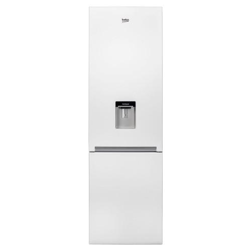 Combina frigorifica Beko RCSA400K20DW, 377 l, Clasa A+, BlueLight, Dozator apa, H 201 cm, Alb