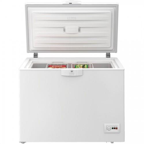 Lada frigorifica BEKO HSA24540N, 230 l, H 86 cm, Clasa A++, alb