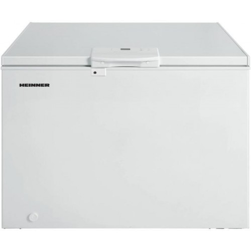 Lada frigorifica Heinner HCF-M250EE++, 250 l, Clasa A++, Display LED, Control elecronic, Congelare rapida, Alb