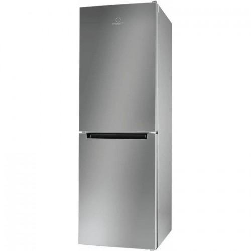 Combina frigorifica Indesit LR7 S1 S, 307 l, Clasa A+, H 176 cm, Argintiu