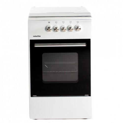 Aragaz NobelTek Cooking NLT 5501A/G1 Gaz 4 arzatoare Alb (NLT 5501A/G1)