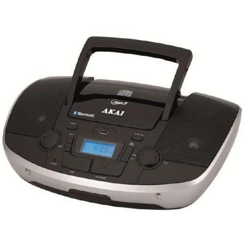 Radio portabil AKAI APRC-108, 6W, CD, MP3, Negru