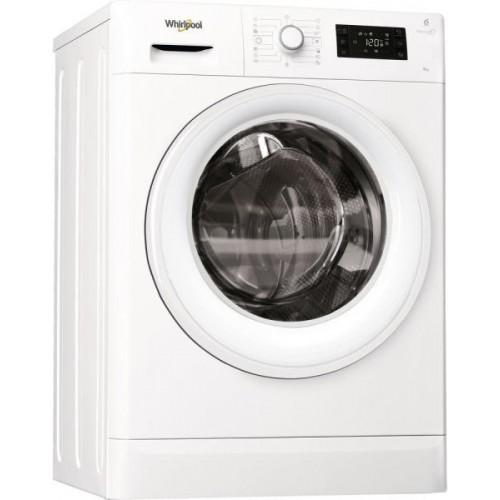 Masina de spalat rufe Slim Whirlpool FreshCare+ FWSL61052W EU, 6 kg, 1000 rpm, Clasa A++, Alb