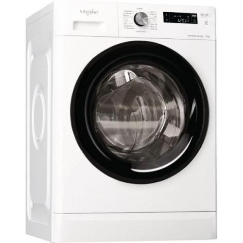 Masina de spalat rufe Whirlpool FFS7238BEE, 7 kg, 1200 rpm, FreshCare+, 6th Sense, Display, Motor inverter, Clasa A+++