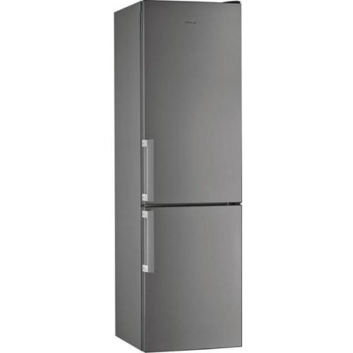 Combina frigorifica Whirlpool W7 911I OX, 368 l, 6th Sense, No Frost, Fresh Box+, 201 H, clasa A+, inox