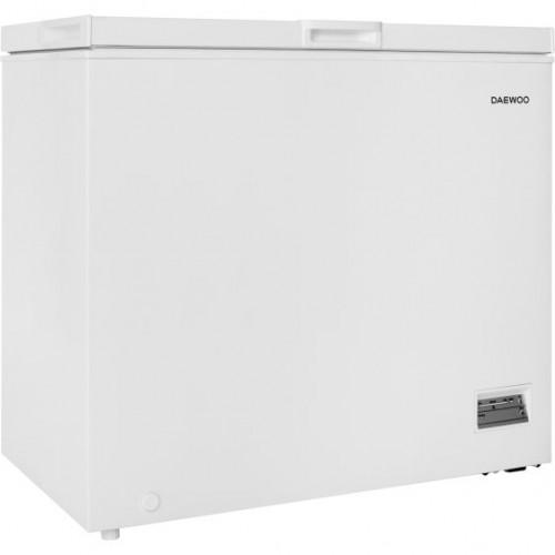 Lada frigorifica Daewoo FF-258HEW, 200l, Clasa E, Control electronic, Alb