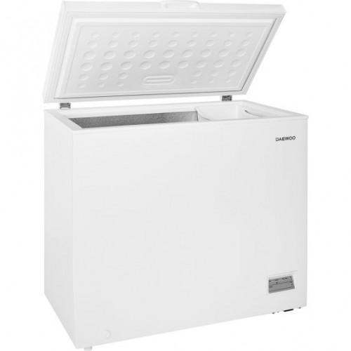 Lada frigorifica Daewoo FF-324HFW, 251l, Clasa F, Control electronic, Alb