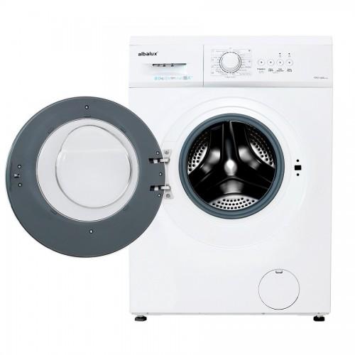 Masina de spalat rufe Albalux AXW148E, 8 kg, 1400 rpm, 23 de programe, Blocare acces copii, Alb