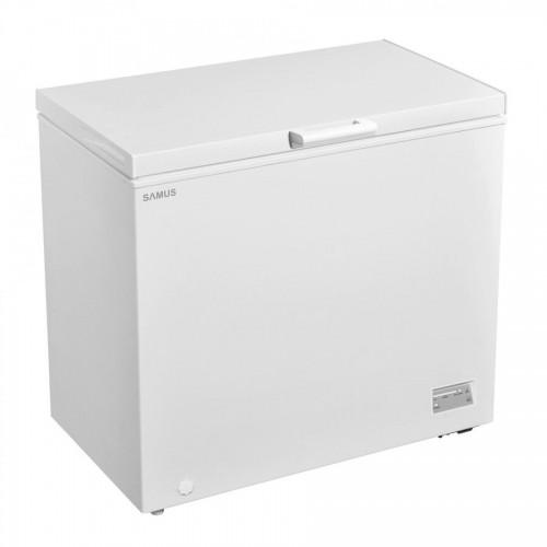 Lada frigorifica Samus LS271A+, 251 L, Termostat reglabil, Functie Fast freeze,  , Clasa F, Alb