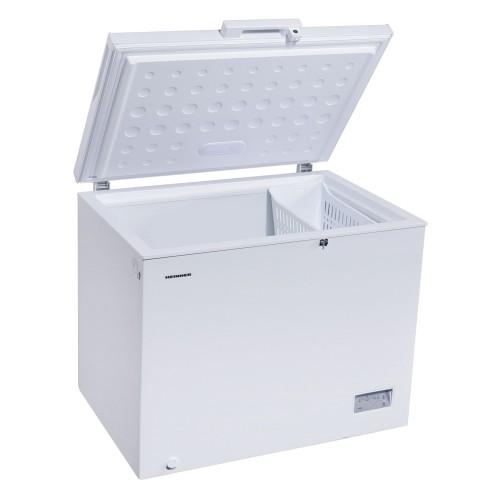 Lada frigorifica Heinner HCF-260NHA+, 260 l, Clasa A+, H 85, Alb