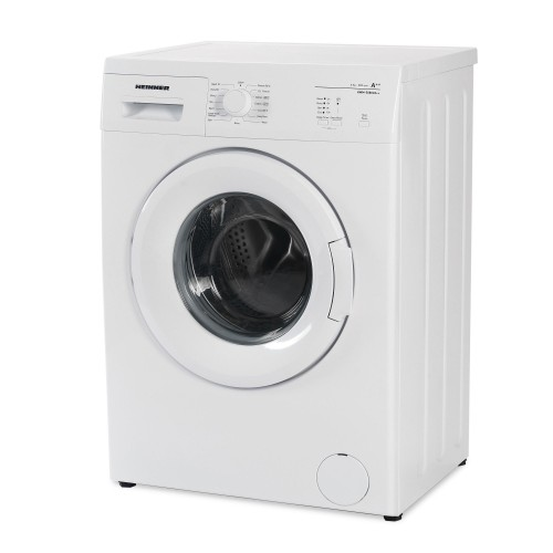 Masina de spalat rufe Heinner HWM-5080VA++, 5kg, 800 RPM, Clasa A++, Functie start intarziat, Sistem Eco Logic, 60 cm, Alb