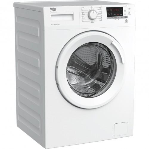 Masina de spalat rufe Slim Beko WRE7512XWW, 7 kg, 1000 RPM, Clasa A+++, Display digital, Alb
