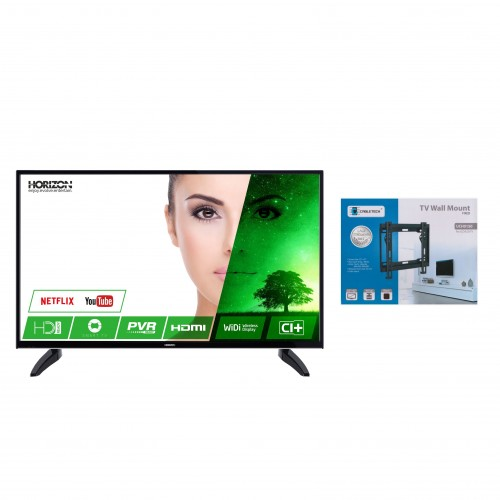 Televizor LED Smart Horizon, 81 cm, 32HL7330H, HD + Suport universal LED TV 23 - 42 inch, Negru