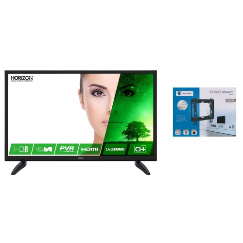 Televizor LED Horizon, 81 cm, 32HL7320H, HD + Suport universal LED TV 23 - 42 inch, Negru