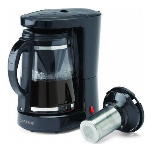 Filtru cafea / ceai Dolce 2 in 1 Albatros, 10 cesti, 680 W, Negru